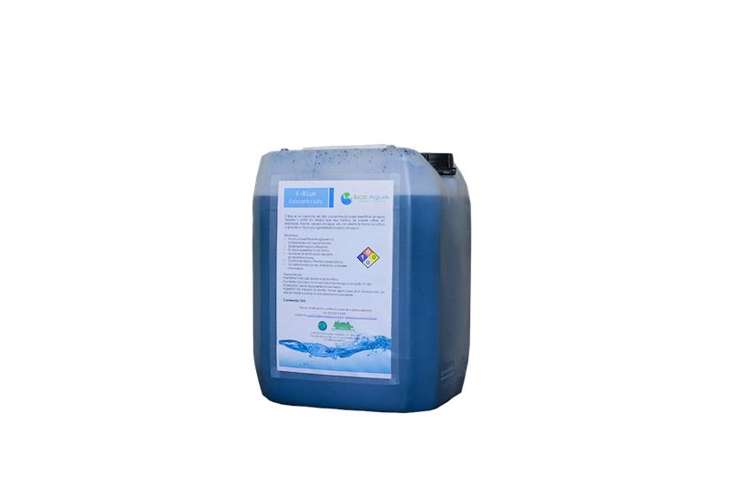 E-Blue Concentrado colorante para agua tratada en plantas de ...